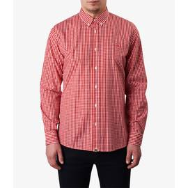 Red  Classic Fit Gingham Shirt