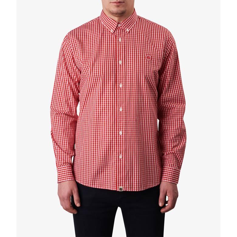 Mens Classic Fit Gingham Shirt