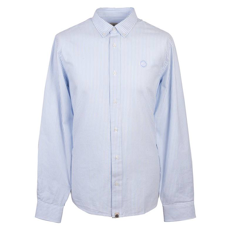 Mens Classic Fit Stripe Oxford Shirt