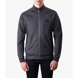 Grey Marl  Zip Through Track Top