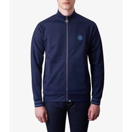 Navy  Zip Through Track Top