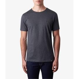 Dark Grey Marl  Cotton T-Shirt