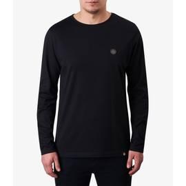 Black  Long Sleeve Cotton T-Shirt