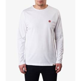 White  Long Sleeve Cotton T-Shirt