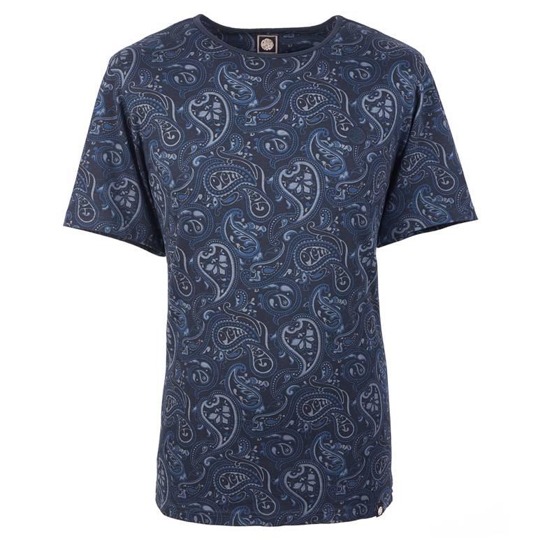 f44545425 Paisley Print T-Shirt | Pretty Green | Online Shop