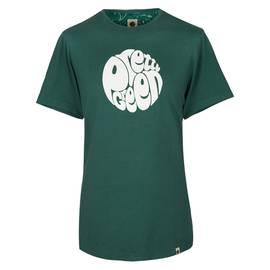 4520a42854b5ad Dark Green Logo Print T-Shirt