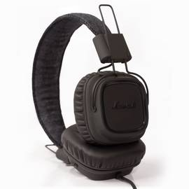 Pitch Black Marshall Major Headphones