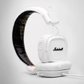 White Marshall Major Headphones