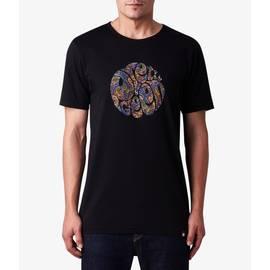 Black Paisley Logo T-Shirt