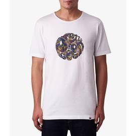 White Paisley Logo T-Shirt