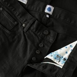 Black Rinse  Skinny Fit Jeans
