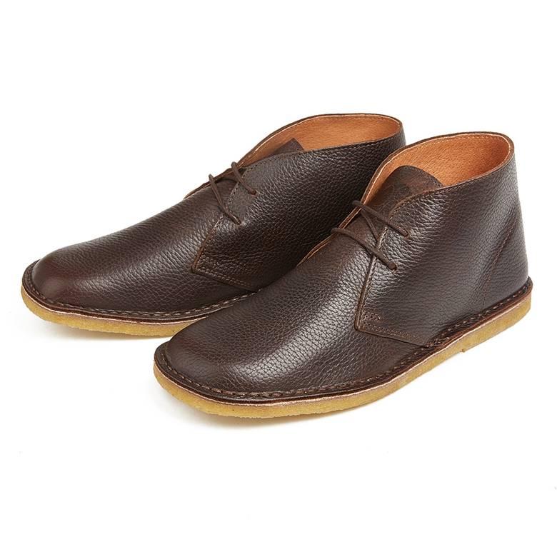 Mens Leather Desert Boot