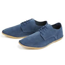 Mid Blue  Suede Shoe