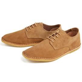Tan  Suede Shoe