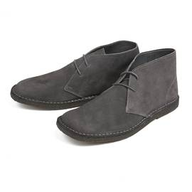 Dark Grey  Suede Desert Boot