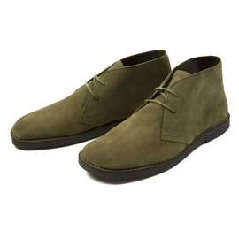 Khaki  Suede Desert Boot
