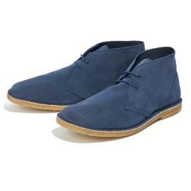 Mid Blue  Suede Desert Boot
