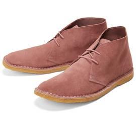 Pink  Suede Desert Boot