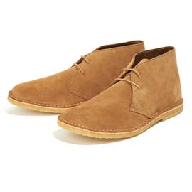Tan  Suede Desert Boot