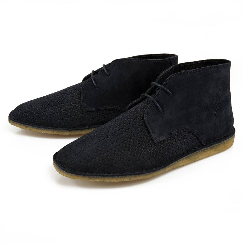 Mens Suede Weave Boot