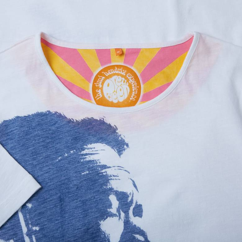 Mens Hendrix Electric Graphic Tee