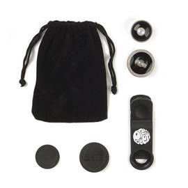 Black Smartphone Lens Kit
