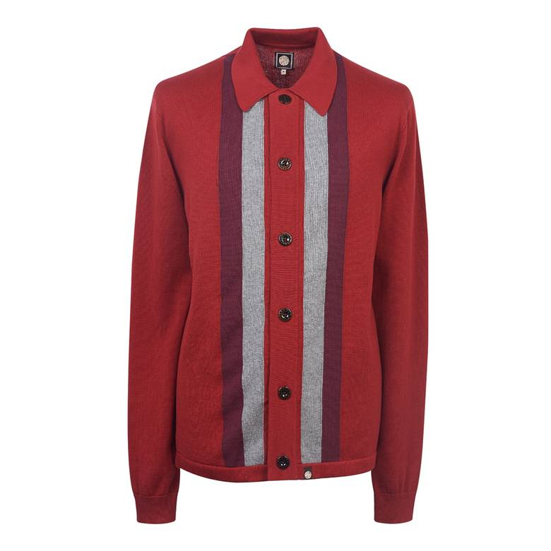 Mens Parlington Knitted Shirt