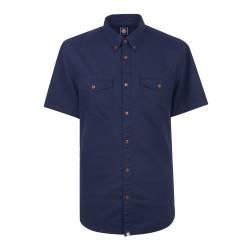 Navy Short Sleeve Gilda Shirt