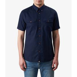Navy Short Sleeve Gilda Shirt
