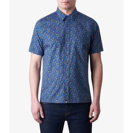 Blue Short Sleeve Ellaston Shirt