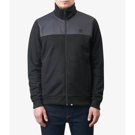 Black  Two Colour Track Top