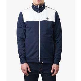Navy  Two Colour Track Top