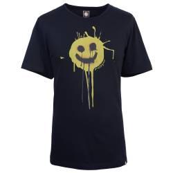 Black Smiley T-Shirt