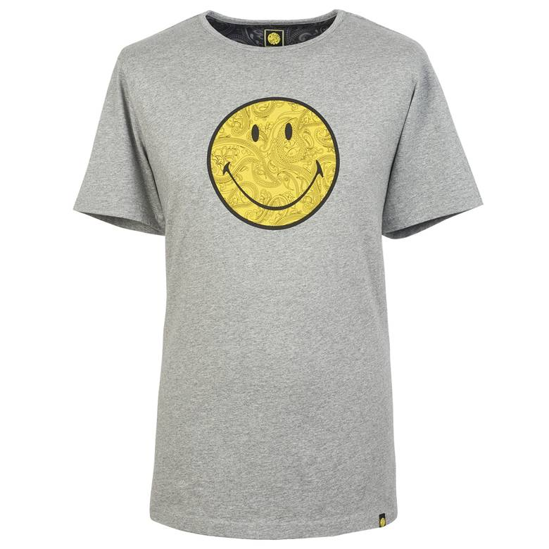 smiley logo print t shirt pretty green online shop. Black Bedroom Furniture Sets. Home Design Ideas