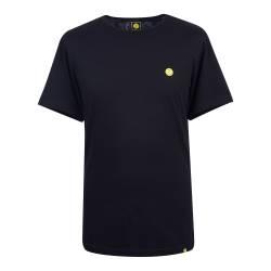Black  Smiley Badge T-Shirt