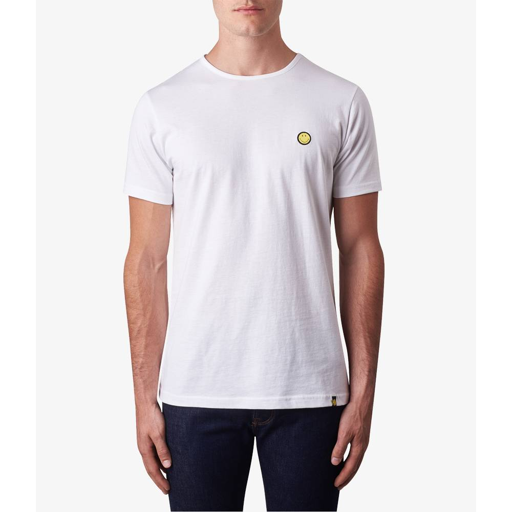 smiley badge t shirt pretty green online shop. Black Bedroom Furniture Sets. Home Design Ideas