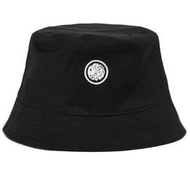 Black  Reversible Spot Print Bucket Hat