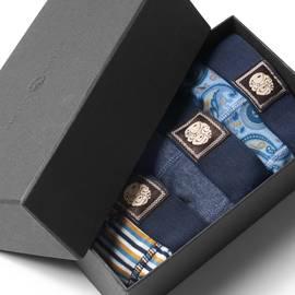 Blue  3 Pack Boxer Shorts Gift Set
