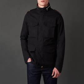 Black  Waterproof M65 Jacket