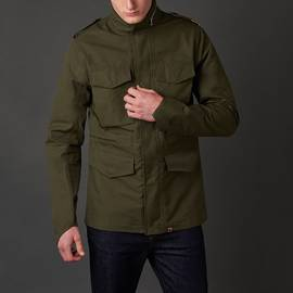 Khaki  Waterproof M65 Jacket