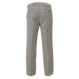 Grey Prince Of Wales Tailored Trouser