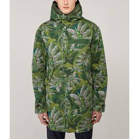 Green Katie Eary Toria Printed Parka