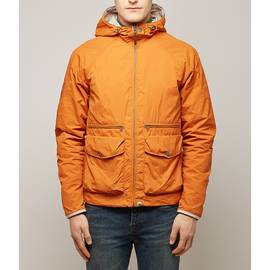 Orange  Lightweight Hooded Jacket