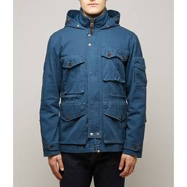 Navy  Hooded M65 Jacket