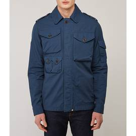 Blue Cotton Ripstop M65 Jacket