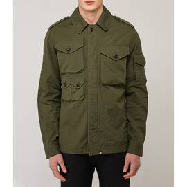 Green Cotton Ripstop M65 Jacket