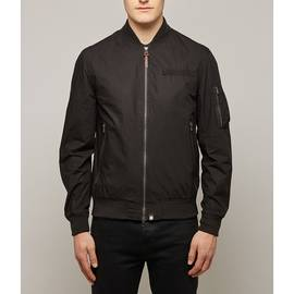 Black  Cotton Bomber
