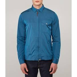 Blue  Lightweight Zip Through Jacket