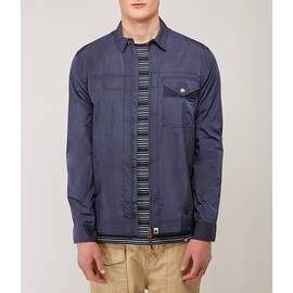 Navy  Lightweight Zip Through Jacket