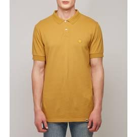 Yellow  Pique Racking Collar Polo Shirt